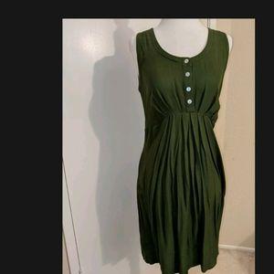 EUC Isabella Oliver Sleeveless Maternity Dress, 1